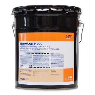 MasterSeal P 222, 1-Part Primer-Sealer (5G) - MasterSeal P 222 Primer-Sealer (formerlay Sonoguard 772). A 1-Component Solvent Based Epoxy Primer and Sealer. For use with MasterSeal products on concrete, metal or wood. 5-Gallon Pail. Price/Pail. (see ordering restrictions in detail view)