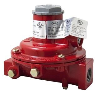 9-12 PSI Adjustable Compact First Stage Regulator 1M BTU