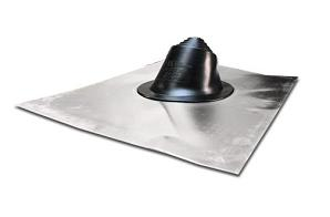 Shingle / Tile Roof Mini, 1/4 - 3 in. Pipe Flashing, EPDM (1) - RESIDENTIAL MASTER FLASH SHINGLE / TILE ROOF PIPE FLASHING.