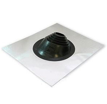 #2 Residential Lead Base Master Flash Flashing, Black EPDM - #2 Residential Master Flash Flashing Boot, 26x30 inch Lead Base with Black EPDM, 20 Degree Pitch. Fits 8 To 11 Inch OD Pipes. Price/Each. (Shipping leadtime 1-3 business days)