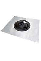 Shingle / Tile Roof #2 Pipe Flashing, 8-11 In. Red Silicone (1)