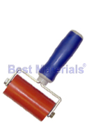Silicone Seam Roller, 4 Inch Wide, Dual-Fork, Threaded Handle