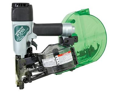 Hitachi NV50AP3 Auto Metal/Plastic Cap Nailer - Sorry, item has been Discontinued by Hitachi with no replacement. HITACHI / NATIONAL NAIL NV50AP3