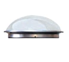 13 Inch Tubular Skylight Top Dome Clear