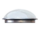 13 inch Tubular Skylight Top Dome, CLEAR