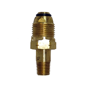 Propane Tank Soft Nose POL x 1/4 in. NMPT Adaptor, HIGH FLOW - Propane Tank Soft-Nose POL x 1/4 in. NMPT Adaptor, HIGH FLOW. Price/Each. (aka ME-1629)