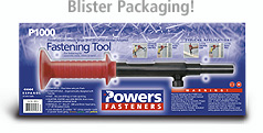 Powers Fasteners P1000 Hammer Actuated Powder Tool