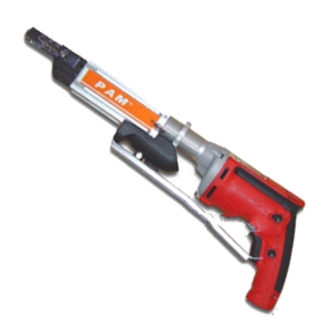 Pam Autofeed Short Screw Gun w/ Milwaukee Screwgun - PAM P13K Short AutoFeed Screwgun Kit. Use 1-3 inch Collated Screws. Kit includes 2500 RPM 6.5A Milwaukee Screwgun (110V), Autofeed Driver System and Case. Price/Kit. (ground shipping only to billing address, photo ID /Signature required)