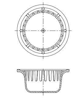 Zurn 2137 1 Sediment Bucket For Z521 Floor Drain