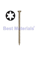 #8 X 2-1/2 Tile Roofing Screw Sharp Point Flat-Head Collated, 1000