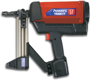 Powers Fasteners C3-ST Trak-It Gas Fastening Nail Gun - Powers Fasteners C3 Trak-It Gas Fastening Nail Gun. Price/Each. (uses gas cartridges, not included)