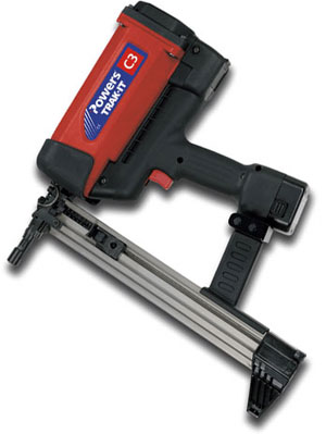 Powers Fasteners C3 Trak-It Gas Fastening Nail Gun - Powers Fasteners C3 Trak-It Gas Fastening Nail Gun. Price/Each. (uses gas cartridges, not included)