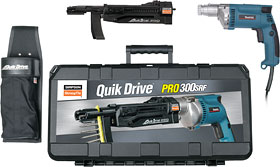 Simpson Quik Drive PRO300RF System, Makita 2500 RPM Screwdriver - Simpson Quik Drive PRO300RF System, with Makita® 2500 rpm screwdriver motor. Price/Each.