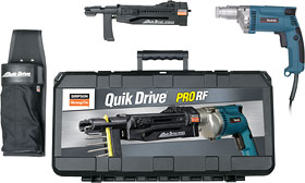 Simpson Quik Drive ProRD Screw Driver w/3500 RPM Makita Screwdgun - Simpson Quik Drive PRORF Collated Screw Driver System. For Concrete and Clay Roof Tile Attachment. With Makita® 3500 rpm screwdriver motor. Price/System.