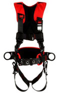 3M #1161205 Protecta Comfort Construction Style Positioning Harness, Black, Medium/Large (1)
