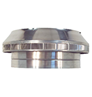 14 in. Dia. Aura Pop Vent, Roof Intake/Breather Vent