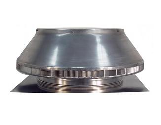 18 in. Dia. Aura Pop Vent , Roof Air Intake Vent, 2 in. Collar - 18 inch inside diameter Aura Pop Vent, Roof air Intake/Breather/Exhaust vent. With 24x24 inch square base flange and 2 inch collar height. For Shingle Roofs. All aluminum, mill finish. Price/Each. (shipping lead time 2 business days)