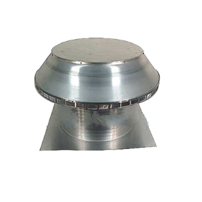 24 in. Dia. Aura Pop Vent, Air Intake Vent w/ 12 in. Collar - 24 Inch ID pop Aura Pop Vent, Roof air intake/breather/exhaust vent. 30x30 inch Square Flange Base and 12 Inch High Collar, for Foam Roofs. All Aluminum. Mill Finish. Price/each. (shipping leadtime 2 business days)