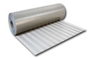 PVC Walkway Roll, HERRINGBONE, GRAY 30 inch x 50 ft. Roll