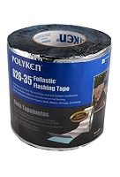 2 in. x 50 ft.  Aluminum Faced Butyl Flashing Tape (24 Rolls)