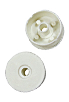 Replacement End Caps For 18 Roller Frame, 5/16 in. (24)