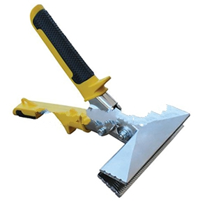 Roofers Choice Hand Metal Seamer, 6 in. Straight - Roofers Choice RS606 Hand Metal Seamer. 6 inch Straight Blades, Drop Forged Steel  with Compound Leverage Non-slip Handle. Price/Each.
