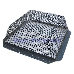Roof Vent Guard Animal Control Screen 16 X 16 X 5 Galv Steel Black