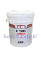 RoofMate Topcoat Elastomeric Roof Coating, LIGHT GRAY (5G)
