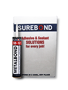 SB-12 MetalBond Adhesive Sealant, High-Strength, Gray (Case/12)