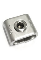 1/2 inch 304 Stainless Steel Screw Buckle (100)