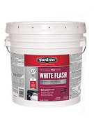 Gardner White Acrylic Roof Cement, White Flash, 3.5 Gallon