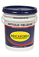 Brickform RA-100 Antique Release, Dark Gray, 5 Gallon (1)