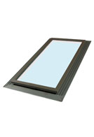 Sun-Tek IFCG-2549 Fixed Impact Resistant Skylight, 22-1/2 X 46-1/2 inches, Self-Flashing, Insulated Glass (1)
