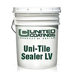 Uni-Tile Sealer LV, Epoxy-Polyamide Penetrating Primer-Sealer (10G) - UNI-TILE SEALER LV, 2-component, quick drying epoxy-polyamide solvent based penetrating primer/sealer. Dries Clear. 10-gallon kit (5G A + 5G B parts). Price/Kit. (leadtime 1 week; special order; UPS ground or truck shipment)
