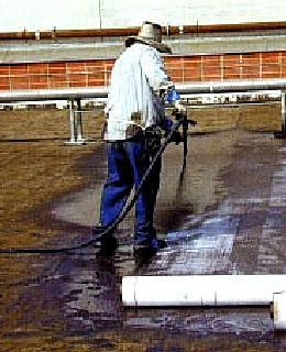 Premium Cold Applied Rubberized Elastomeric Asphalt Emulsion (5G) - WESTERN COLLOID #298E, PREMIUM COLD APPLIED ELASTOMERIC (rubberized) ASPHALT EMULSION AND DAMP PROOFING. ASTM D 1227 TYPE III. 5-GALLON PAIL. PRICE/PAIL.