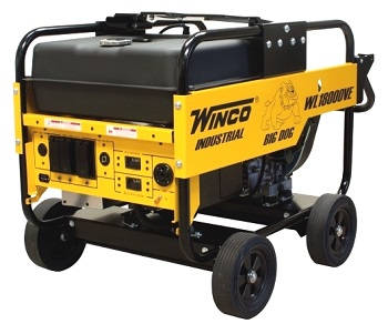 Winco 18000 Watt Generator, Gasoline Powered - WINCO MODEL WL18000VE 18,000 WATT GENERATOR, 31 HP VANGUARD MOTOR, ELECTRIC START (Battery additional). TRUCK SHIPMENT ONLY. (photo ID AND signature required for delivery, cannot ship to Calif.)