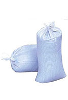 Winfab Woven Polypropylene Sand Bags, White, 14 inch X 26 inch (1)