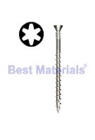 #10 X 2-1/2 inch 316 Stainless Steel Collated Deck Screw (1000)