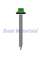 #9 X 1-1/2 SS HWH Alum. Panel Screw w/ NEO, Painted (250)
