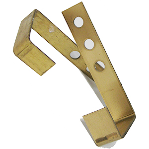 Concrete Roof Tile Securing Clips / Hooks, Brass (500) - Concrete Roof Tile Securing Clips / Hooks, Brass. 500/Box. Price/Box. (shipping leadtime 1-3 days)
