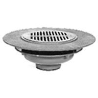 Zurn Z532 Wide Flange 12 Inch Floor Drain Specify Outlet