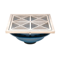 Zurn Z150 Dt 14 Inch Prom Deck Drain Decor Grate Select