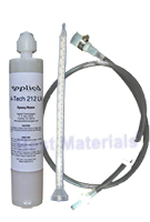 Crack Injection Epoxy, Universal Cartridge w/ Mixer and Hose (8.5 oz)