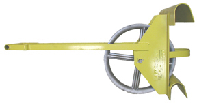 Roofers Choice, 24 in. Long Ladder Hoisting Wheel / Derrick - ROOFERS CHOICE #LHH-WHEEL, EXTRA-LONG LADDER HOISTING WHEEL (DERRICK), EXTENDED 24 inch HANDLE. PRICE/EACH.