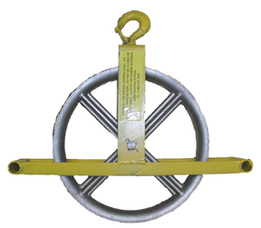 ACRO 79005 Ladder Hoisting Wheel With Hook - ACRO 79005 LADDER HOISTING WHEEL WITH HOOK. PRICE/EACH.