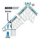 AccuVent Cathedral Vents w/Starter Strip, 22.5x48 (box/50)