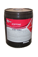 ACETONE SOLVENT, 5 GALLON (not shippable)