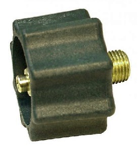 Propane Tank Connector, Type-1 Acme X 1/4 in. MNPT, GREEN High Flow - Propane Tank Quick Connector, Ttype-1 Acme Cylinder Connector, Green HIGH FLOW, 1-5/16 in. Acme x 1/4 in. MNPT Outlet, 200,00 BTU. Price/Each. (MEC #ME-518)