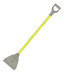 Acro 13100 Super Shingle Shovel Y Groove For Nail