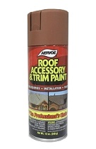 Roof Accessory Spray Paint, TERRA COTTA Color